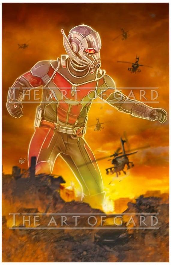 Ant-Man Versus Print 11X17