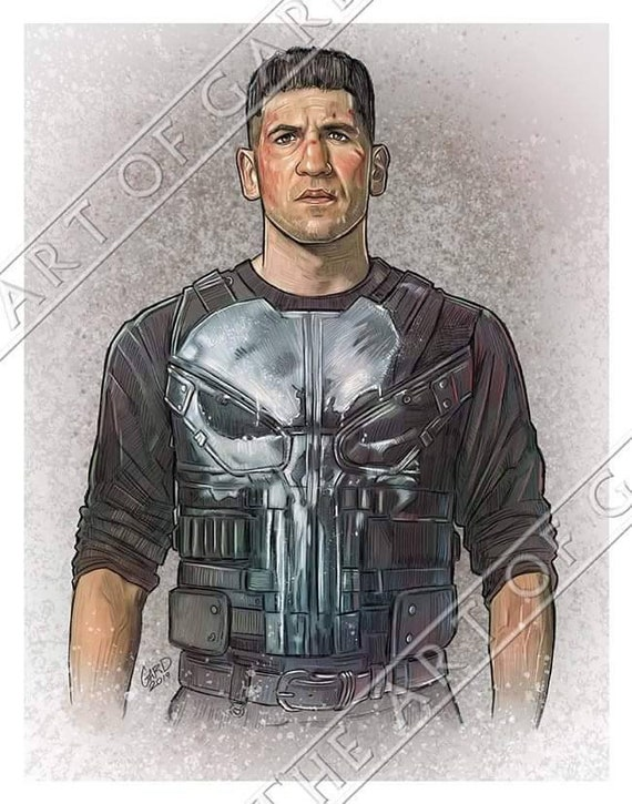 Jon Bernthal as Frank Castle aka The Punisher