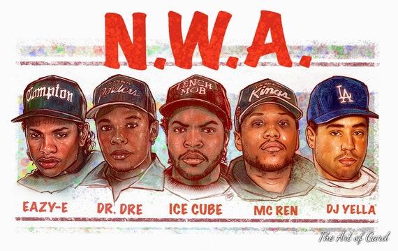 N.W.A. Art Print
