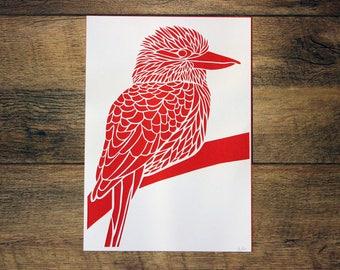 CLEARANCE - Kookaburra Paper Cut