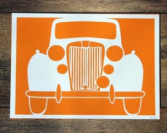 CLEARANCE - MG Car Paper Cut