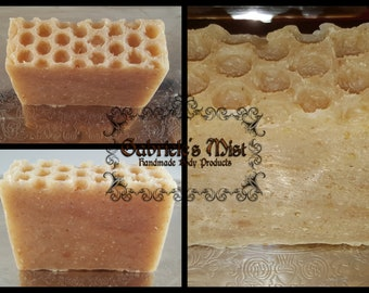 Oatmeal Milk & Honey Soap, natural soap, essential soap, moisturizing soap, aromatherapy soap, face soap, natural soap, hot process soap
