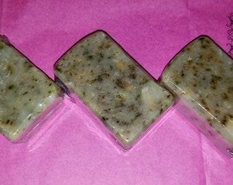 Exfoliating peppermint cp soap