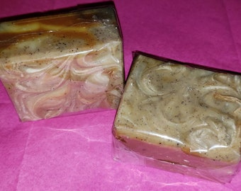 Hemeric cold process soap | tumeric soap | hemp soap | handmade soap | exfolianting soap