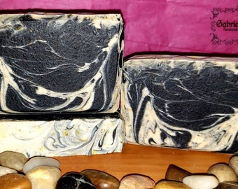 Collagen Essential Cold Process Soap | EDS (Ehlers - Danlos Syndrome) Awareness Soap | handmade soap | activated charcoal soap
