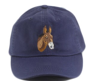 Donkey embroidered hat f5098cc83ea5