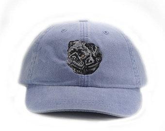 099217c430f Pug embroidered hat