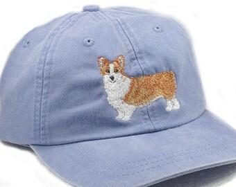 7fdbe496d46be Corgi embroidered hat