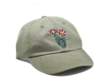 Cactus embroidered hat a29fae9c1929