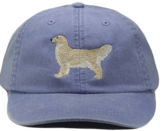 14d54fa2ca40e Golden retriever embroidered hat