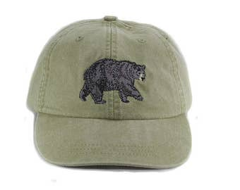 Black Bear embroidered hat 88b952db76ed