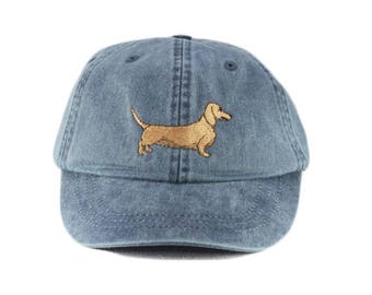 e5f344277df Dachshund embroidered hat