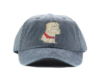 d3e600de1d3 Yellow Labrador retriever embroidered hat