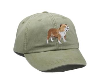 5ccb3795052 Bulldog embroidered hat