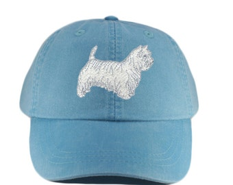 f78f96fc2c8 Westie embroidered hat