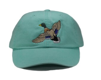 17db7276e9f91 Loon embroidered hat baseball cap duck cap dad hat mom
