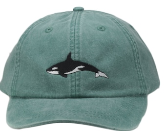 aed692c0373e3 Orca embroidered hat