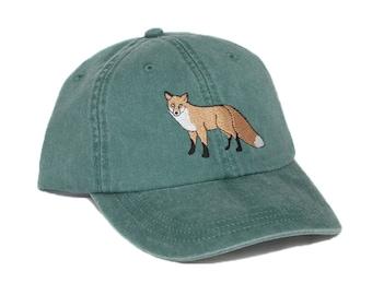 6af353ee733e9 Fox embroidered hat
