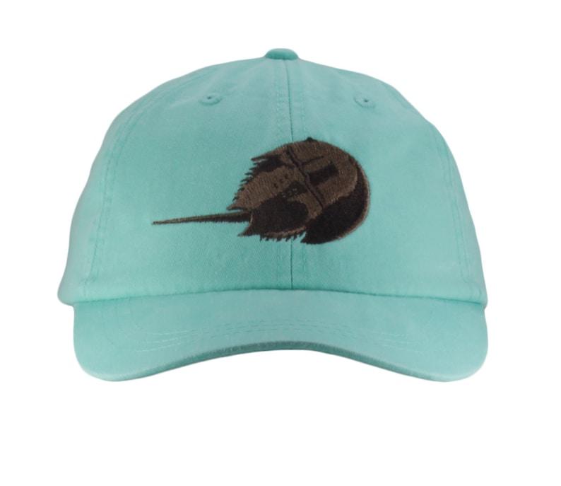 a38740a604898 Horseshoe Crab embroidered hat baseball cap cap dad hat