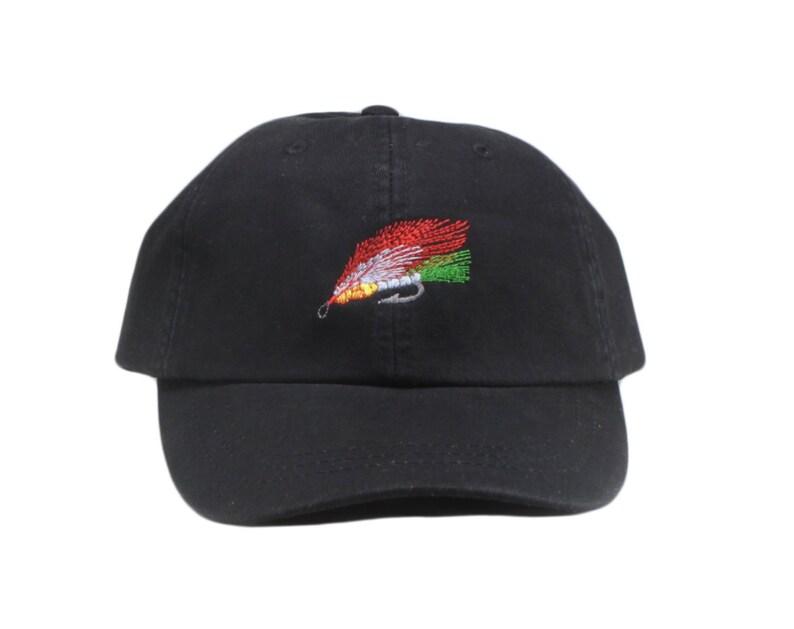 e65be2e99e522 Fly fishing embroidered hat baseball cap bass fishing hat