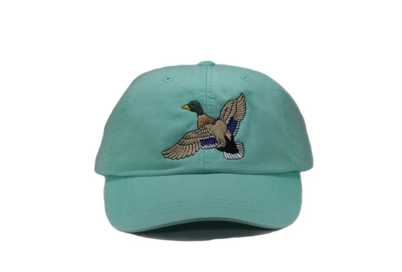 b78f30c07927d Mallard embroidered hat baseball cap duck cap dad hat mom