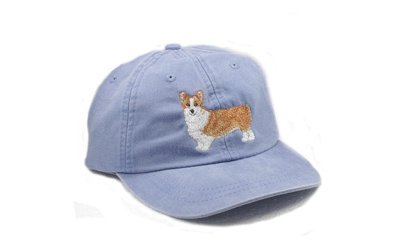 Corgi embroidered hat baseball cap pet mom cap dad hat  5e684ccbe87