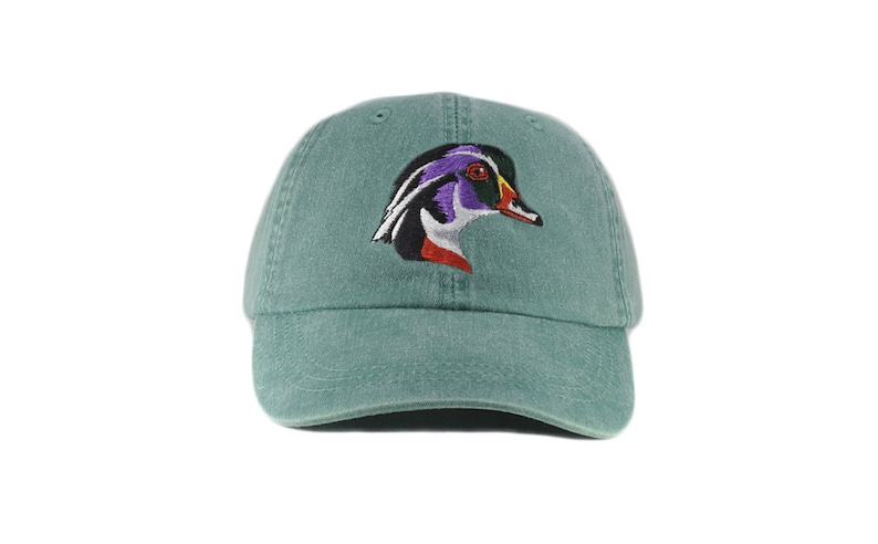 174bf6d4dc399 Wood Duck embroidered hat baseball cap dad hat mom cap