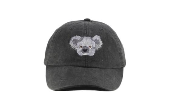 Koala embroidered hat baseball cap dad hat mom cap koala  006c8ca9a3d2