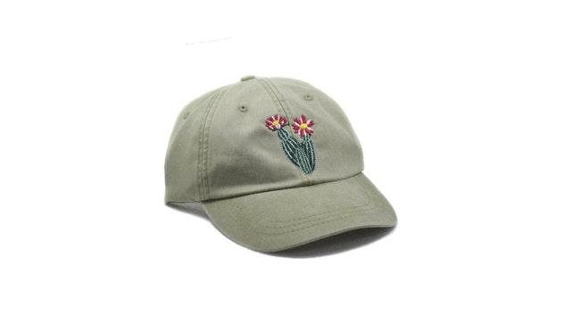 Cactus embroidered hat cap flower gardening hat sun hat | Etsy