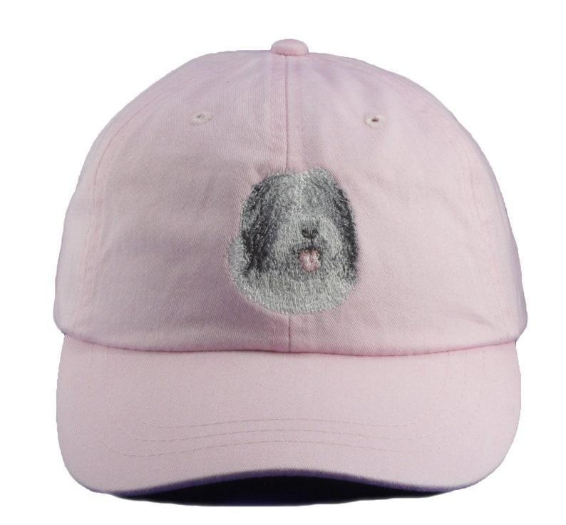 85064439e Old English Sheepdog embroidered hat, baseball cap, dog lover gift, pet mom  cap, dad hat, mom, gift for pet lover, sheep herding dog