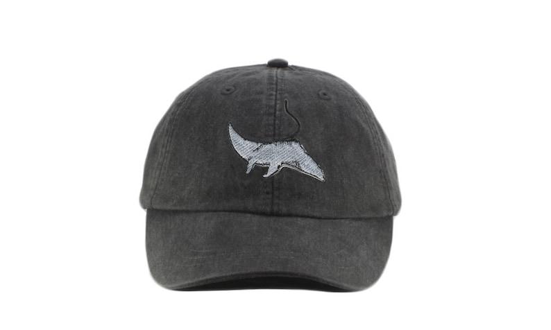 79f6def50ae86 Manta Ray embroidered hat baseball cap dad hat mom cap
