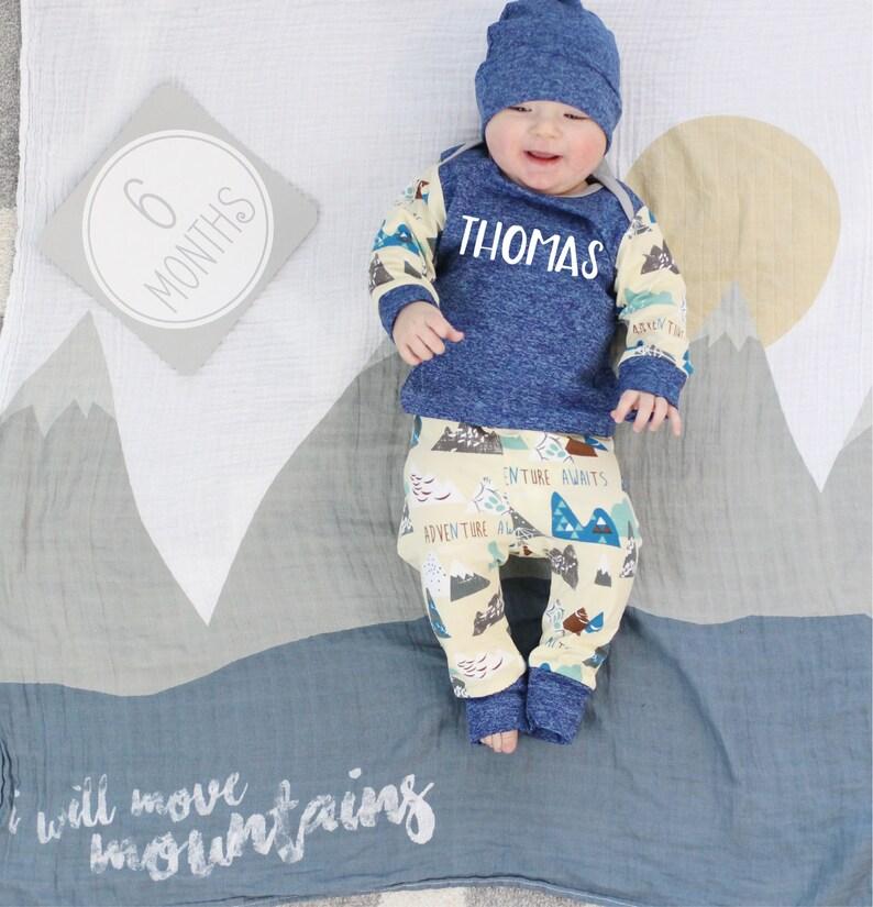 821b82b4f Baby Boy Personalized Clothing Custom Baby Boy Clothing