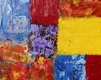 """18x24 original acrylic on canvas entitled """"fall"""""""