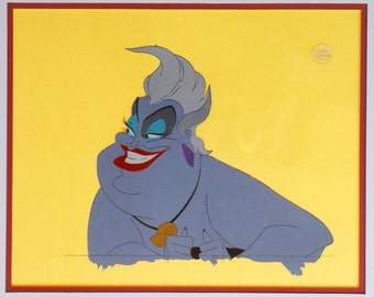 THE LITTLE MERMAID original production Ursula the Sea Witch cel
