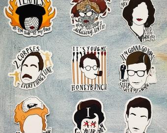 Clue Movie Character Sticker Set (Full Set)
