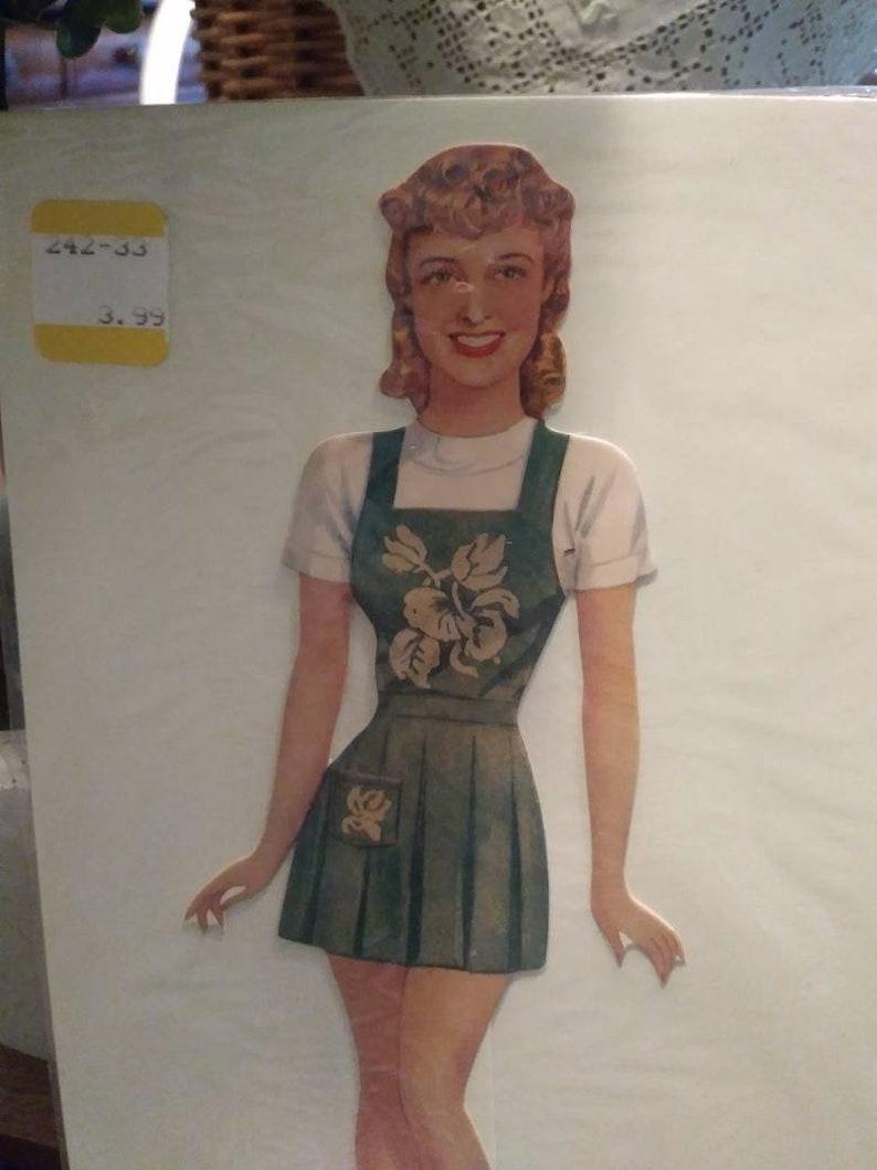 Vintage-style Jeanette MacDonald Celebrity Paper Doll Shackman 1992 Dress Up
