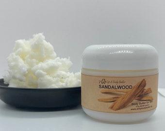 Sandalwood Lip Balm & Body Butter