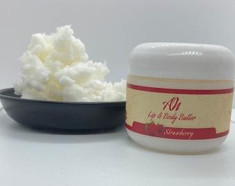 Strawberry Lip Balm & Body Butter