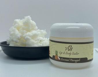 Coconut/Pineapple Lip Balm & Body Butter
