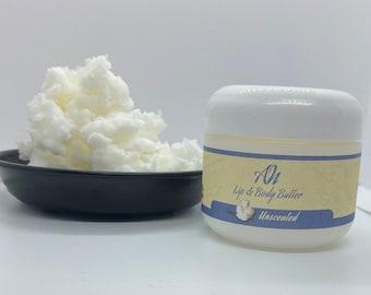 Unscented Lip Balm & Body Butter