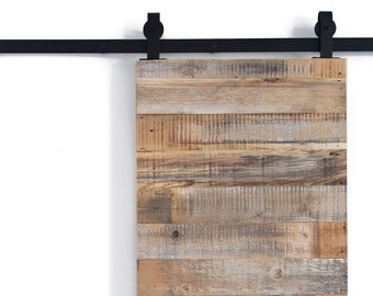 Bon Reclaimed Horizontal Slat Barn Door