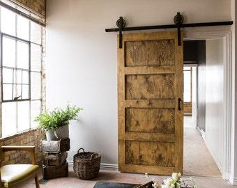 Heavy Duty Industrial Sliding Barn Door Closet Hardware