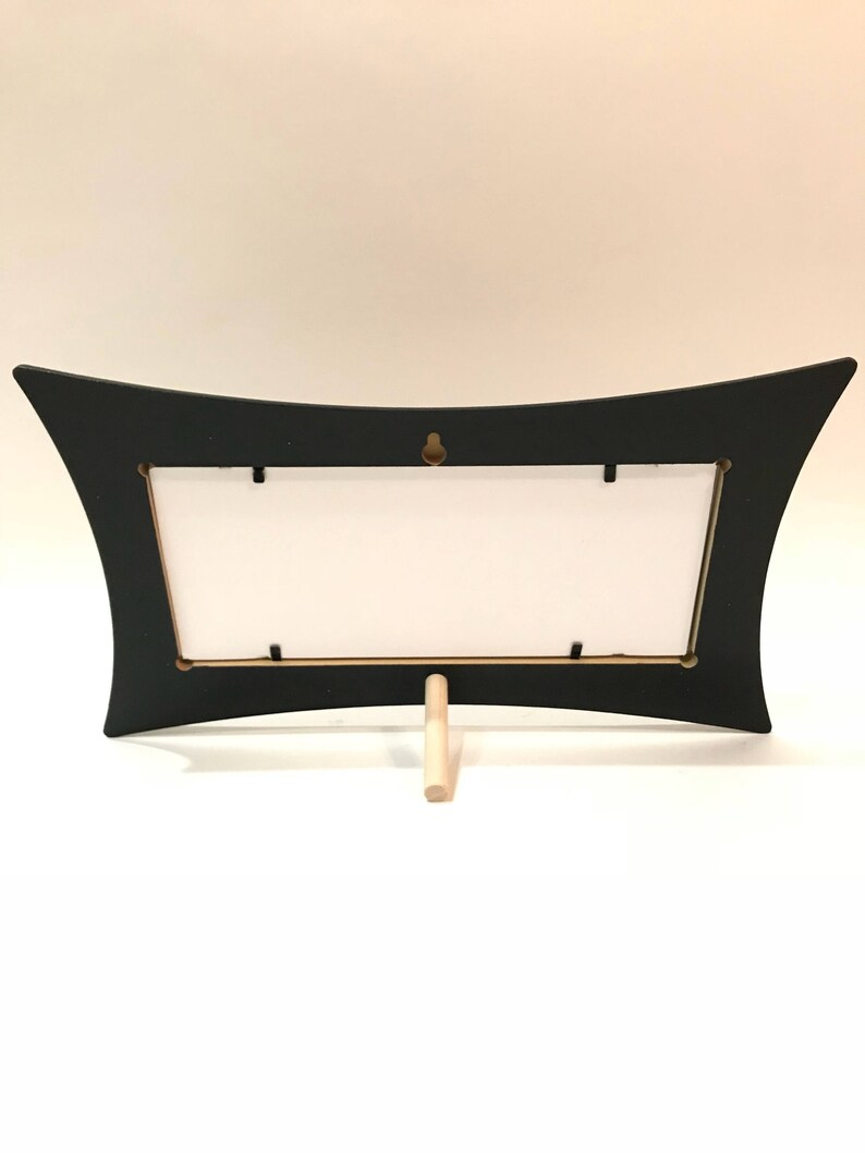 Barber /& Cosmetology License Frame black gold foil fan print fits 8 12 x 3 58 Business certification