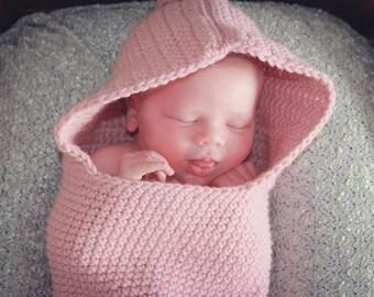Newborn Baby Cacoon, Newborn Photo Prop, Baby Sack, Pink Baby Cacoon, Blue Baby Cacoon