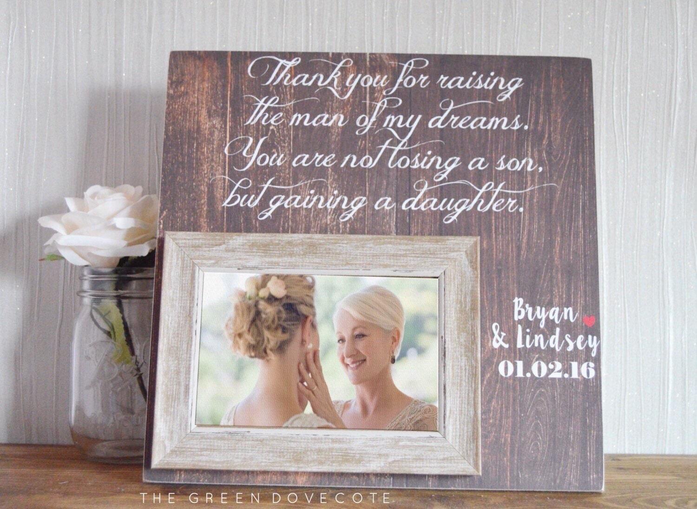 Mutter im Gesetz Hochzeit Geschenk für Eltern Eltern | Etsy