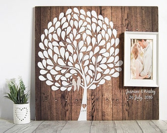 Tree Guest Book - Wedding Tree Guest Book - Signature Tree - Wedding Guest Book Alternative - Wedding Tree - Alternative Wedding