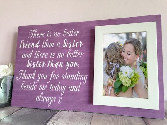 Wedding Gift For Sister Ideas: Sister Wedding Gift Gift For Sister Wedding Gift For