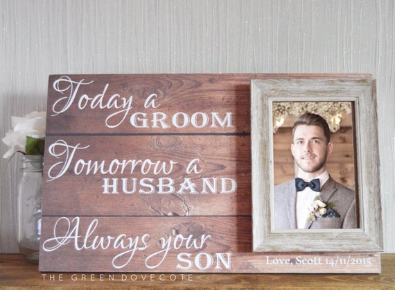 What Do You Give For Wedding Gifts: Gift For Grooms Parents Thank You Wedding Gift Parents Of