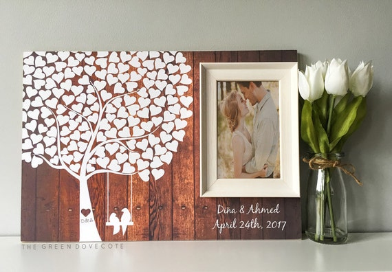Alternative Guestbook Custom Guest Book Wedding Guest Book | Etsy