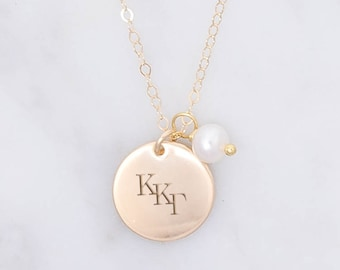 925 Sterling Silver Yellow Gold-Plated Official Kappa Kappa Gamma Extra Small Tiny Pendant Charm 15mm x 18mm